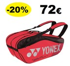 BAG9826EX Pro Racquet Bag (6pcs) Red