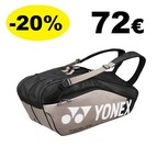 BAG9826EX Pro Racquet Bag (6pcs) Platium