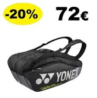 BAG9826EX Pro Racquet Bag (6pcs) Black