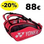 BAG9829EX Pro Racquet Bag (9pcs) Red