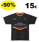 T-SHIRT Lee Chong Wei 18071 Black
